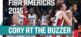 Vidéo: Cory Joseph offre la médaille de bronze au Canada au buzzer