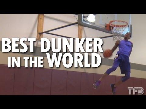 Vidéo : Guy Dupuy innove avec de nouveaux dunks qui laissent bouche bée