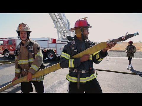 Vidéo : les Kings s'entraînent avec les pompiers de Sacramento