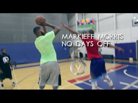 Vidéo : Markieff Morris – NO DAYS OFF! Summer work!