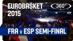 Vidéo : une vue en 360° et qualité 4K de France – Espagne devant 26 922 spectateurs !