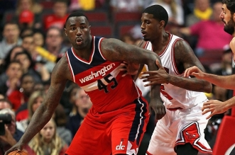 Dejuan Blair Wizards Washington