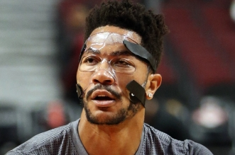 Derrick Rose Bulls masque mask