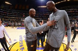 Kevin GArnett et Kobe Bryant