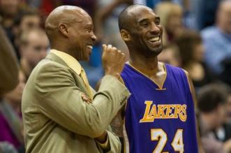 Kobe Bryant et Byron Scott