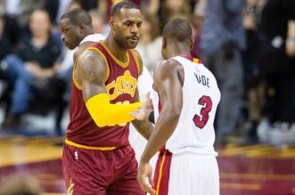 LeBron James et Dwyane Wade NBA