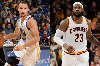 LeBron-James-et-Stephen-Curry