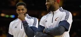 LeBron James sur Thompson: «je ne vais pas aller voir les dirigeants et leur dire ce qu'ils devraient faire»