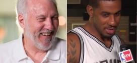 LaMarcus Aldridge mis au repos forcé par Gregg Popovich : « Bienvenue aux Spurs »