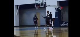 Vidéo : Kevin Durant travaille sur un nouveau shoot