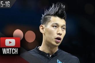 Highlights : 18 pts, 8 rebs et 5 pds pour Jeremy Lin contre les Bulls