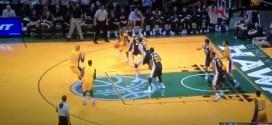 Vidéo : quand Kobe « no pass » Bryant mange les 24 secondes à lui tout seul