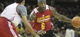 LeBron James explique pourquoi il portait le n°6 durant le scrimmage des Cavaliers