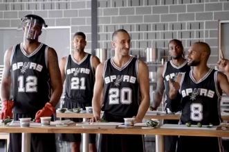 Les excellentes publicités H-E-B avec les San Antonio Spurs