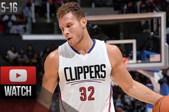 Les highlights de Blake Griffin face aux Warriors: 29 points en 25 minutes
