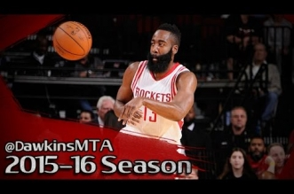 Les highlights de James Harden: 19 pts, 6 rbds & 5 passes