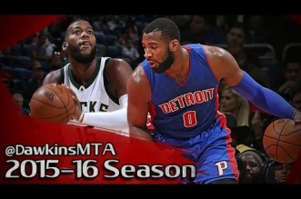 Les highlights du duel Greg Monroe (18 pts) – Andre Drummond (17 pts)