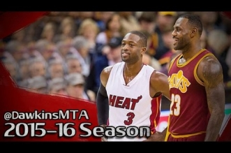 Les highlights du duel LeBron James (29 pts) – Dwyane Wade (25 pts)