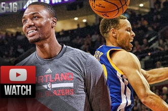 Les highlights du duel Stephen Curry (30 points) – Damian Lillard (22 points)