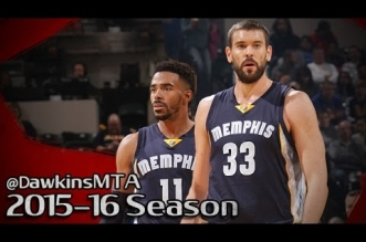 Les highlights du duo Marc Gasol (20 pts) – Mike Conley (13 pts, 10 asts)