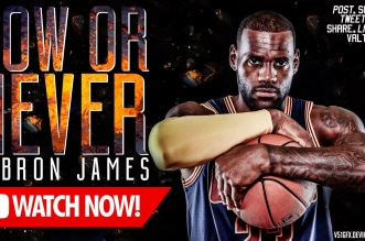 Mix : LeBron James – Now or Never