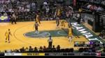 Oups : Kobe Bryant se mange la tranche sur son premier shoot