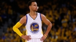 OAKLAND, CA - MAY 27:  Stephen Curry #30 of the Golden State Warriors looks on in the first half while taking on the Houston Rockets during game five of the Western Conference Finals of the 2015 NBA Playoffs at ORACLE Arena on May 27, 2015 in Oakland, California. NOTE TO USER: User expressly acknowledges and agrees that, by downloading and or using this photograph, user is consenting to the terms and conditions of Getty Images License Agreement.  (Photo by Ezra Shaw/Getty Images)