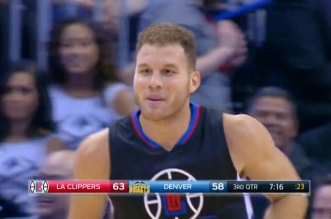 Blake Griffin clippers trois points