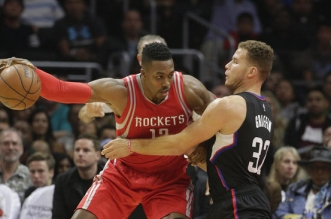 Blake Griffin et Dwight Howard
