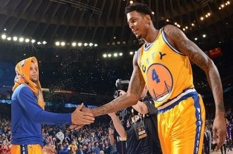 Brandon Rush et Setphen Curry