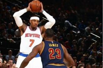 Carmelo Anthony et LeBron James