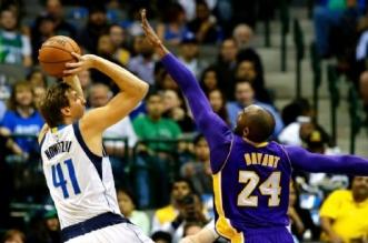 Dirk Nowitzki et Kobe Bryant