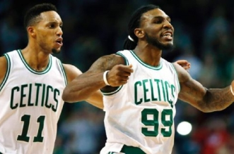 Evan Turner et Jae Crowder
