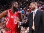 J.B. Bickerstaff et James Harden