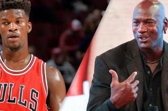 Jimmy Butler et Michael Jordan