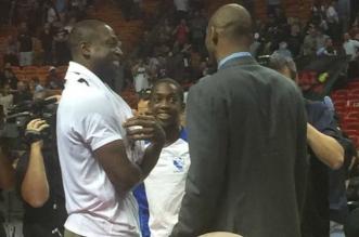 Kobe Bryant, Dwyane Wade et Zaire Wade