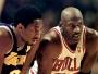 Kobe Bryant et Michael Jordan