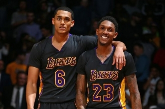 Lou Williams et Jordan Clarkson