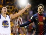 Stephen Curry et Lionel Messi