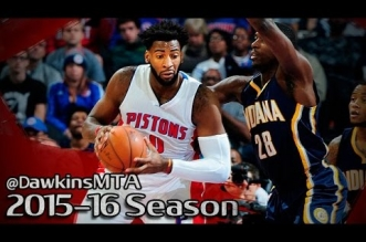 Highlights : 25 pts et 29 rebonds pour Andre Drummond contre Indiana