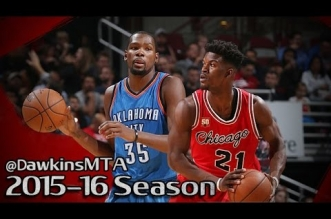 Highlights: le duel Jimmy Butler (26 pts) vs Kevin Durant (33 pts)