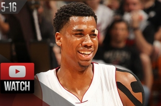 Highlights : les 25 pts à 12/15 et 15 rbds d'Hassan Whiteside face aux Rockets