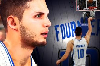 Le game winner d'Evan Fournier version NBA 2K16