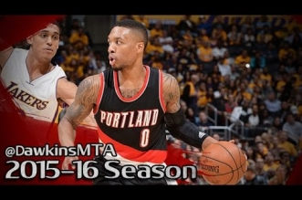 Les highlights de Damian Lillard face aux Lakers: 30 points et 13 passes