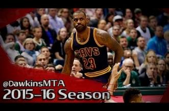 Les highlights de LeBron James face aux Bucks: 37 points et 12 rebonds