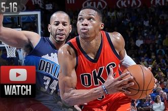 Les highlights de Russell Westbrook face aux Mavs: 31 points et 11 passes