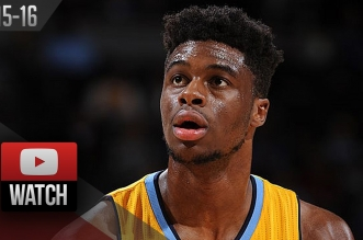 Les highlights d'Emmanuel Mudiay (26 pts) et Karl-Anthony Towns (18 pts)