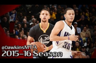 Les highlights du duel Stephen Curry – Seth Curry