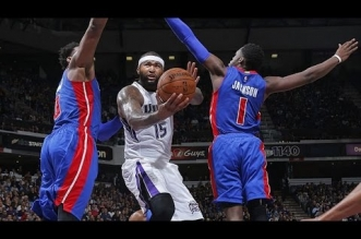 Les highlights du trio DeMarcus Cousins (33 pts) – Rajon Rondo (triple-double) – Rudy Gay (25 pts)