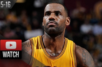 Les highlights du trio LeBron James (31 pts, 8 asts), Mo Williams (29 pts) et Kevin Love (22 pts)
